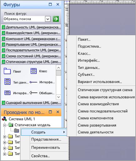 Схема вариантов использования Selece