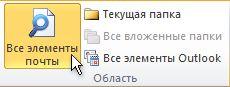 «Все элементы почты» на ленте
