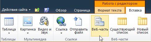 "Команда ""Веб-часть"""