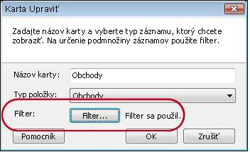 tab with filter applied