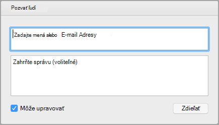 Invite People dialog box