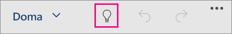 Zobrazenie ikony Chcem zistiť vOffice pre Windows 10 Mobile