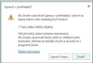 hlásenia, keď sa pokúsite otvoriť woksheet s obrázkom pozadia
