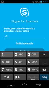 Snímka obrazovky soknom na zadanie čísla na spätné volanie vtelefóne sAndroidom