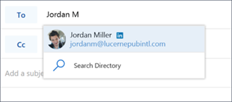 Navrhovaný kontakt z LinkedInu