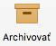 Tlačidlo Archivovať na páse s nástrojmi v Outlooku pre Mac