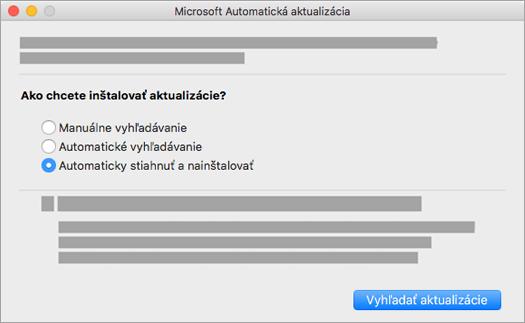 Microsoft AutoUpdate pre Mac