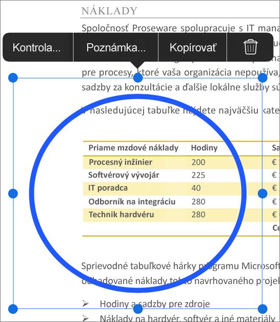 Značka úpravy PDF