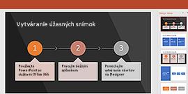 Funkcia PowerPoint Designer