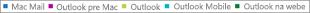 Snímka obrazovky: Zoznam e-mailových klientov. Kliknutím na e-mailového klienta získate ďalšie údaje zostavy o danom klientovi.