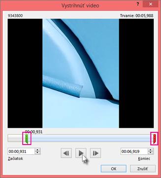 Orezanie videa