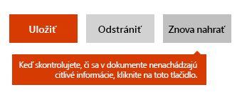 Možnosť opätovného nahratia dokumentu na lokalite Docs.com