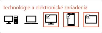 Postupným klikaním na jednotlivé ikony môžete vybrať viac ikon na vloženie.