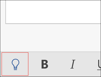 Kliknutím na žiarovku aktivujte funkciu Chcem zistiť