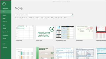 Getting Started with Excel 2016