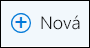 Ikona Nové pre e-mailovú správu v Outlooku na webe