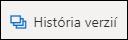 Tlačidlo História verzií na páse s nástrojmi vo OneDrive