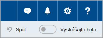 Pripojenie k službe Outlook.com beta