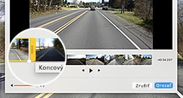 Snímky videa a jedna upravovaná snímka