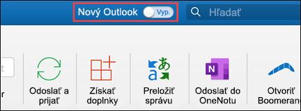 Nový Outlook pre Mac