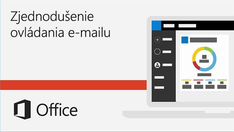 Video ovylepšení zjednodušeného ovládania e-mailu