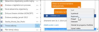 Webová URL adresa dokumentu