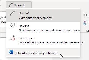 Otvoriť v počítačovej aplikácii