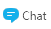 Tlačidlo Chat