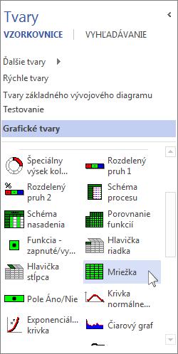 Vzorkovnica Grafické tvary