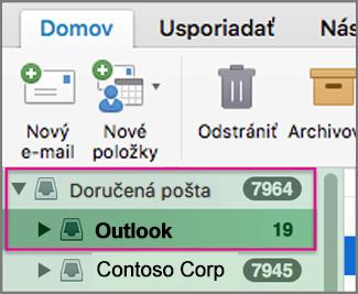 Konfigurácia nastavení pre používateľov