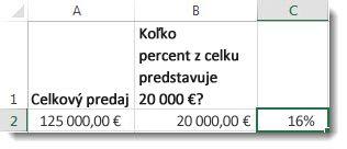 125 000 € v bunke a2, 20 000 € v bunke b2 a 16 % v bunke c2