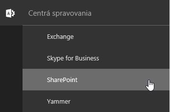 Správca, SharePoint