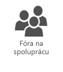 PMO – fóra určené na spoluprácu