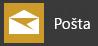 Zobrazuje aplikáciu Pošta pre Windows 10, ako sa zobrazuje v ponuke Štart Windowsu