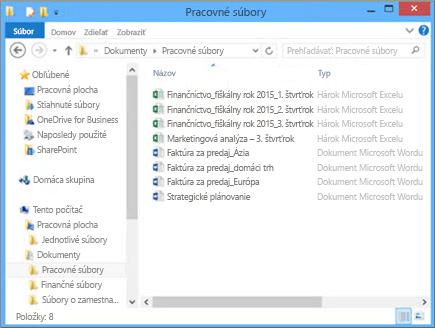 Vyberte možnosť Prehľadávať aprejdite na súbor vpočítači, ktorý chcete nahrať na tímovú lokalitu.
