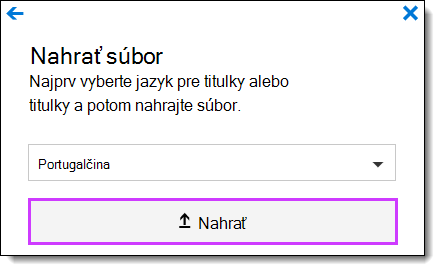 Office 365 Video nahrať titulky