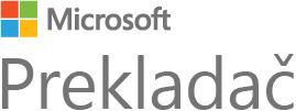 Logo programu Microsoft Translator