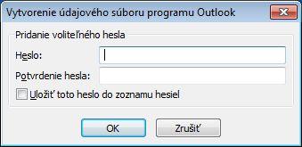 Informačné kanály RSS v programe Outlook