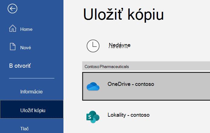 Snímka dialógového okna Uložiť ako v Exceli