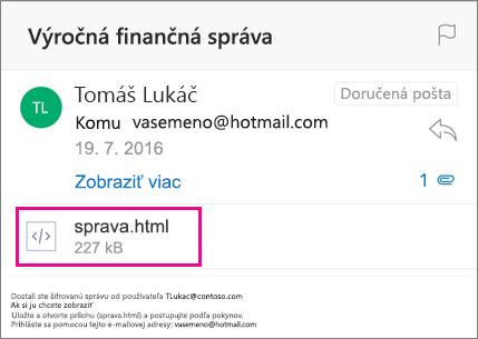 Zobrazovač OME pre Outlook pre iOS 1