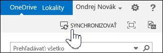 Synchronizácia OneDrivu for Business v SharePointe 2013