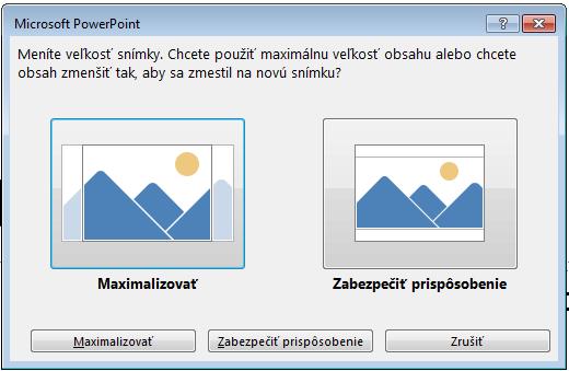 Ak sa rozhodnete pre maximalizáciu, určitý obsah sa zobrazí mimo okrajov pri tlači. Môžete to vidieť na obrázku vľavo.