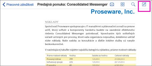 Nástroj zapisovania v PDF súbore