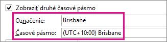 Časové pásmo Brisbane