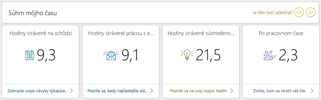 Snímka obrazovky s tabuľou služby na analýzu