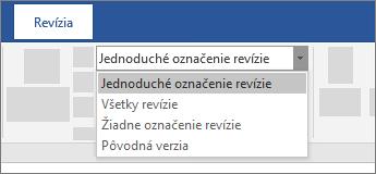 Jednoduché označenie revízie