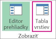 Kliknutie na tlačidlo Vizitka pre pridanie elektronickej vizitky do podpisu