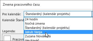 Zdroje v zozname Pre kalendár