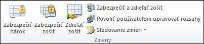 Obrázok pása s nástrojmi programu Excel