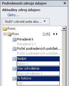 Otvorenie lokality v programe SharePoint Designer 2010
